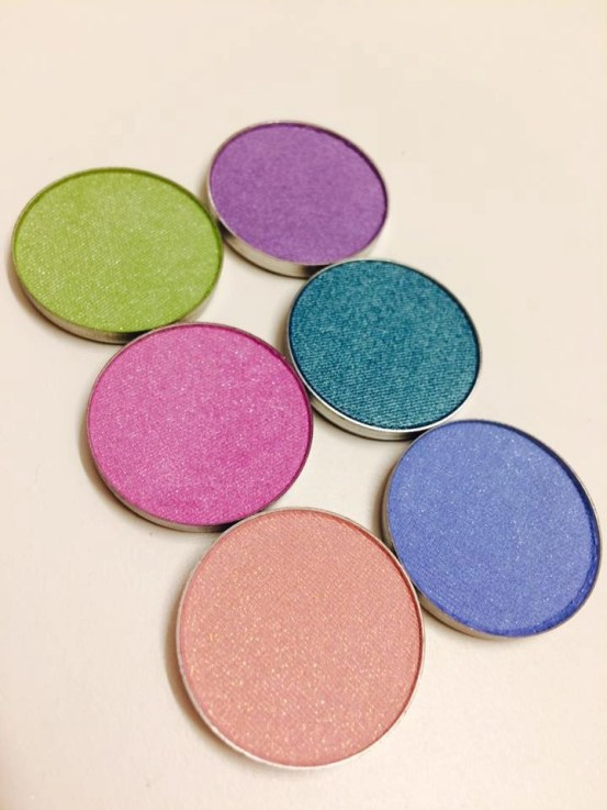 Beauty Junkees Summer Sixers Eyeshadow Collection
