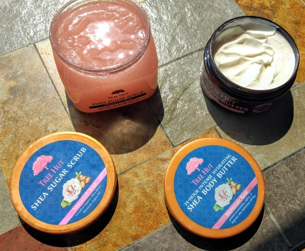 Tree Hut Shea Body Butter and Shea Sugar Scrub