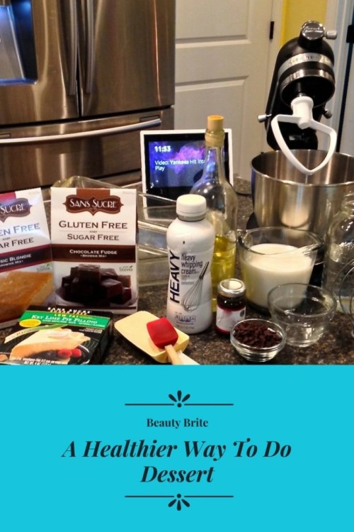 A Healthier Way To Do Dessert-San Sucre Gluten Free and Sugar Free Baking Mixes