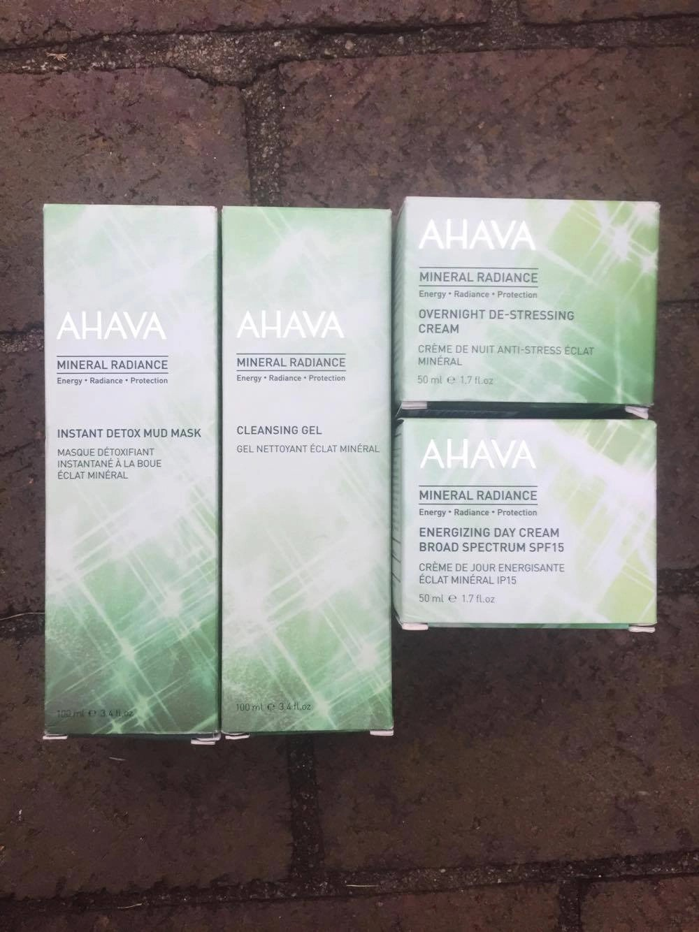 Detox Your Skin From The Outside In! - Ahava Mineral Radiance Skin Care Collection