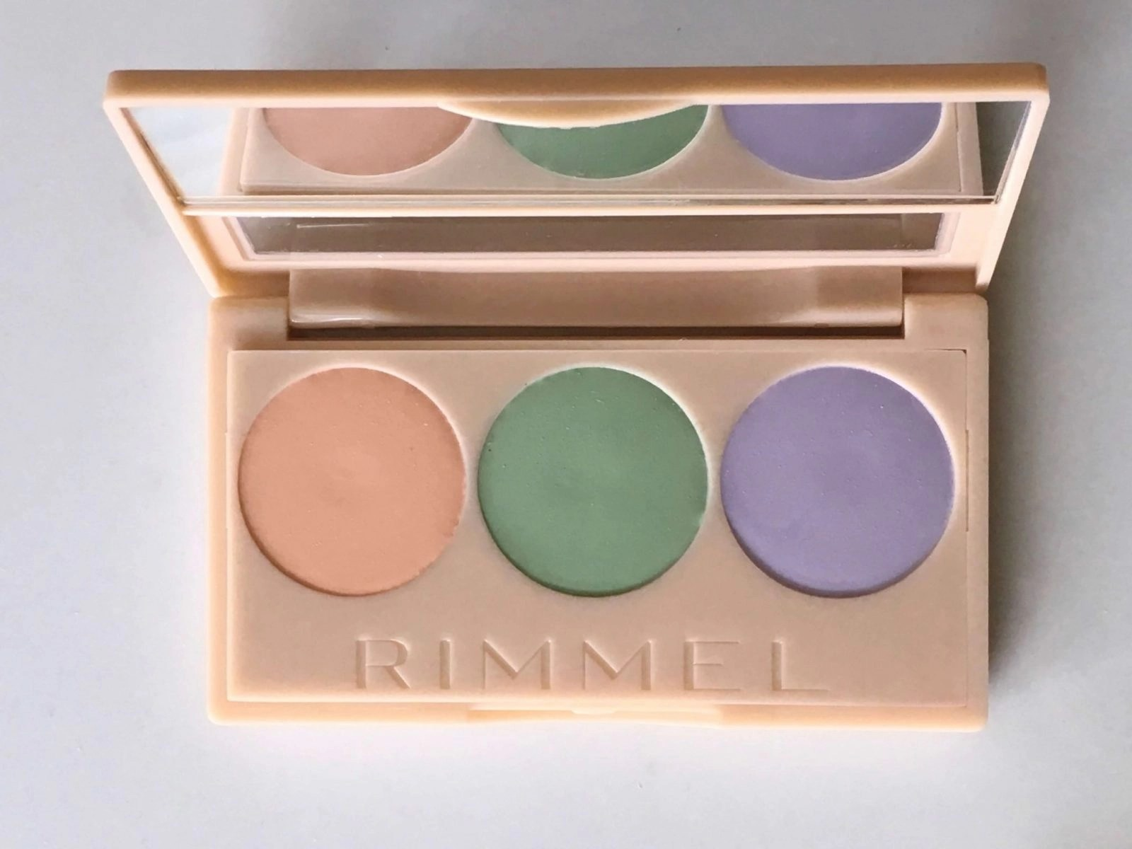 Rimmel Insta Conceal and Correct Palette Opened