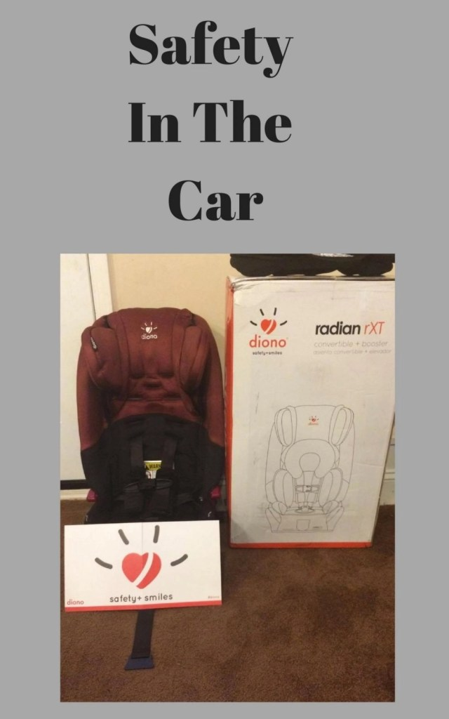 Safety In The Car - Diono Radian rXT Convertible and Booster Seat