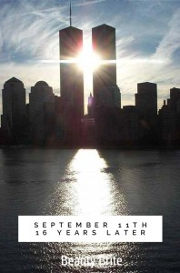 September 11th 16 Years Later