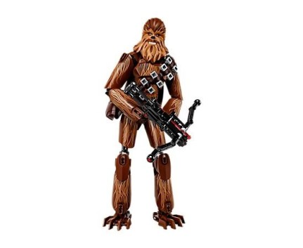 Completed LEGO Star Wars Chewbacca Building Kit