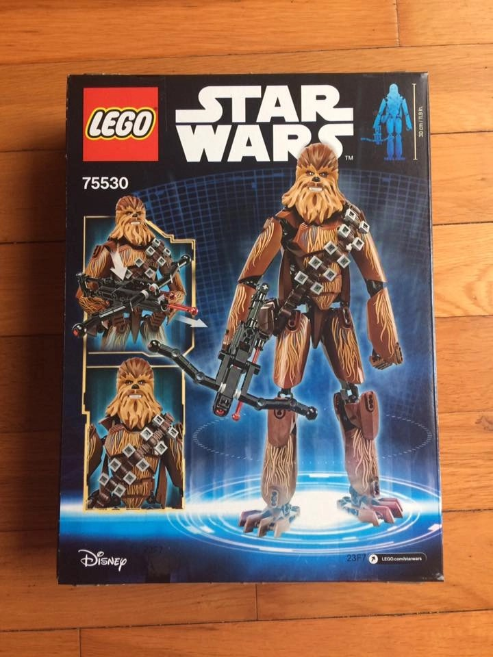 Creative Gift For The Star Wars Fan - LEGO Star Wars Chewbacca Building Kit
