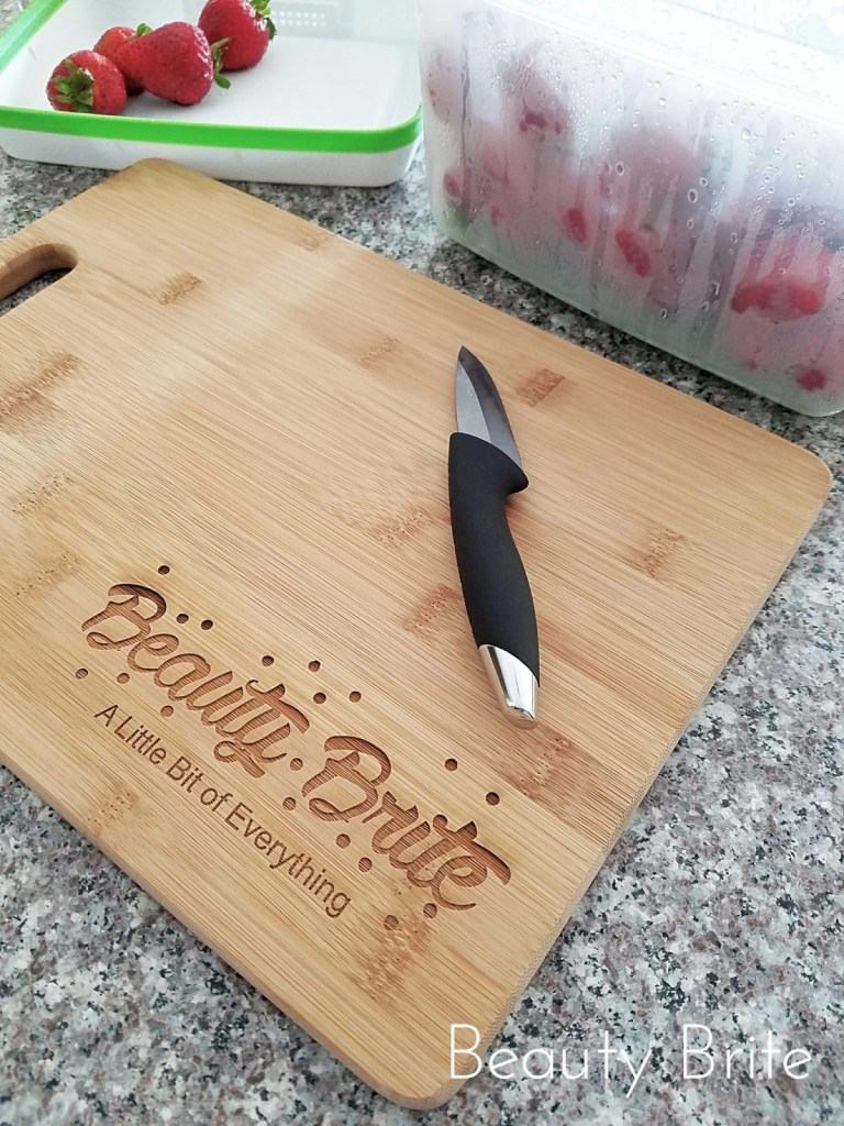 Everything Decorated Personalized Bamboo Cutting Board