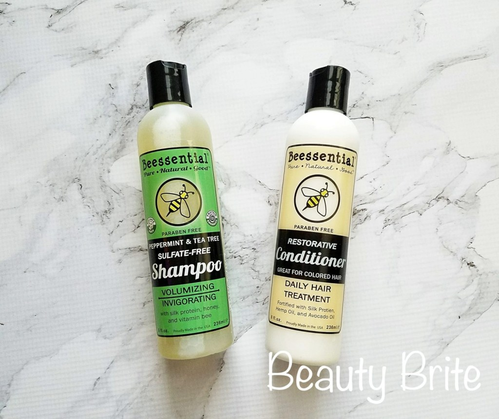 Peppermint & Tea Tree Shampoo and Honey & Botanical Conditioner