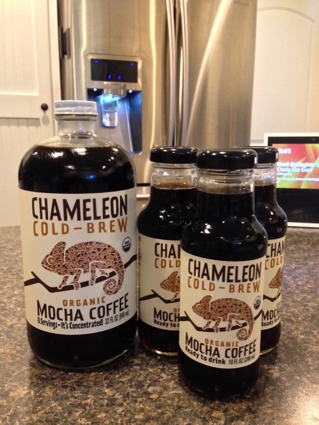 Chameleon Cold-Brew Organic Mocha Coffee Ready To Drink and Concentrate