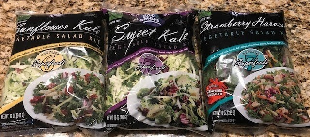 Eat Smart Vegetable Salad Kits