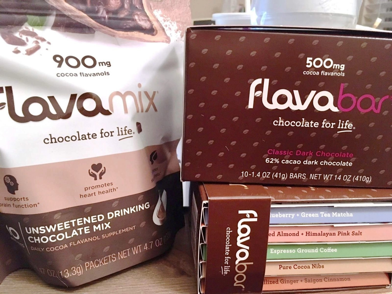 FlavaNaturals Chocolate Products