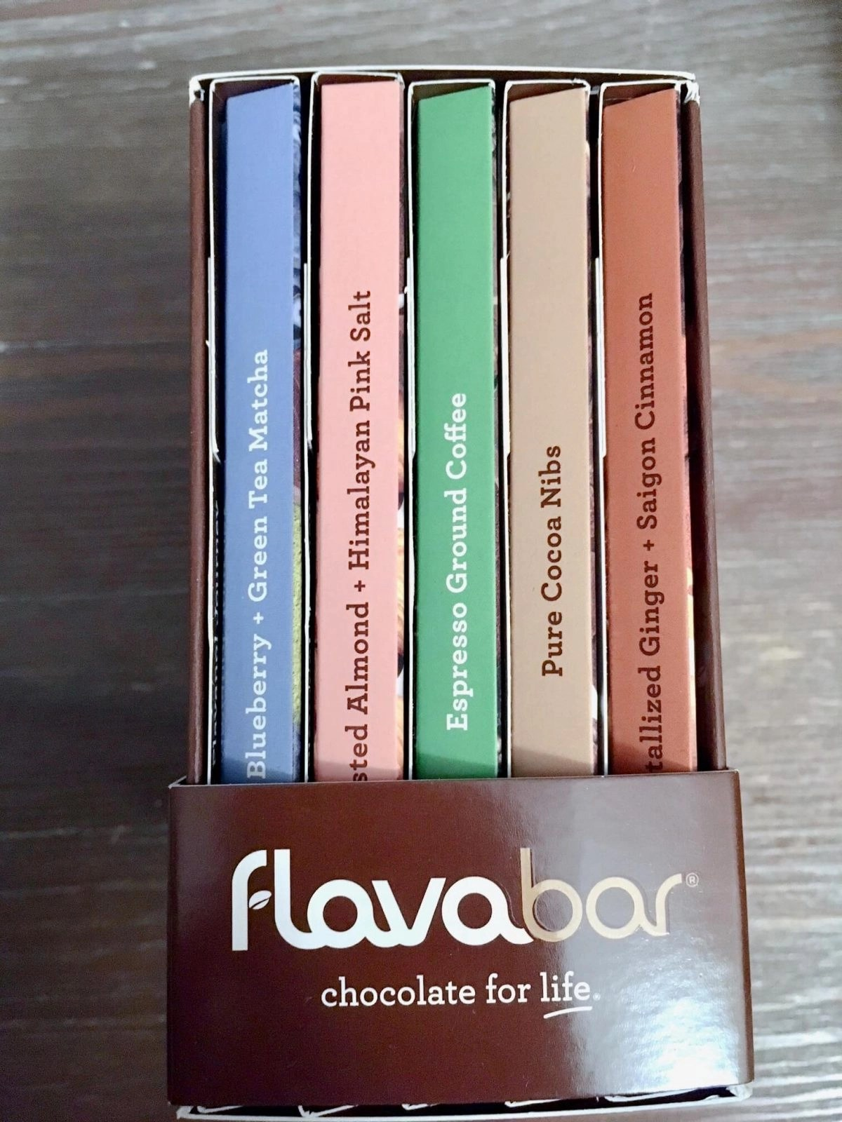 Box of Chocolate from FlavaNaturals