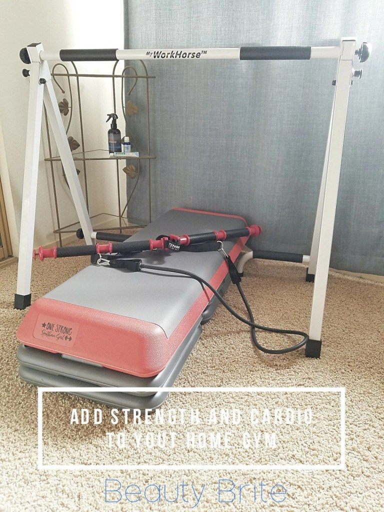 Add strength and cardio to your home gym beauty brite