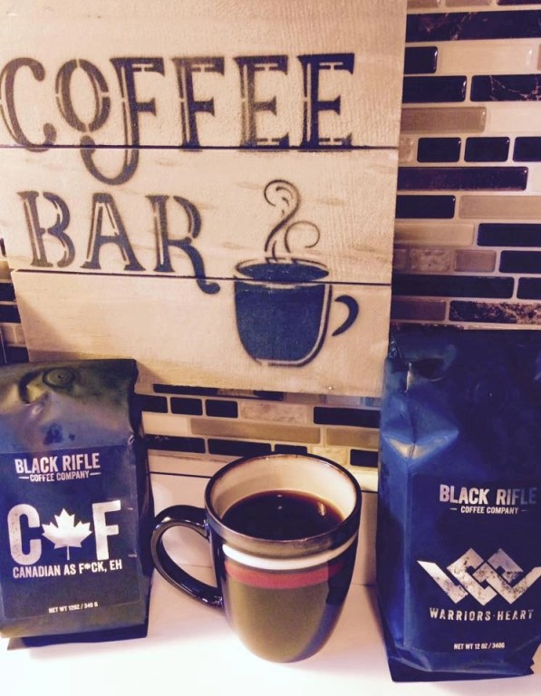 Black Rifle Coffee Company Warrior's Heart Blend and Canadian as Fck, Eh Blend