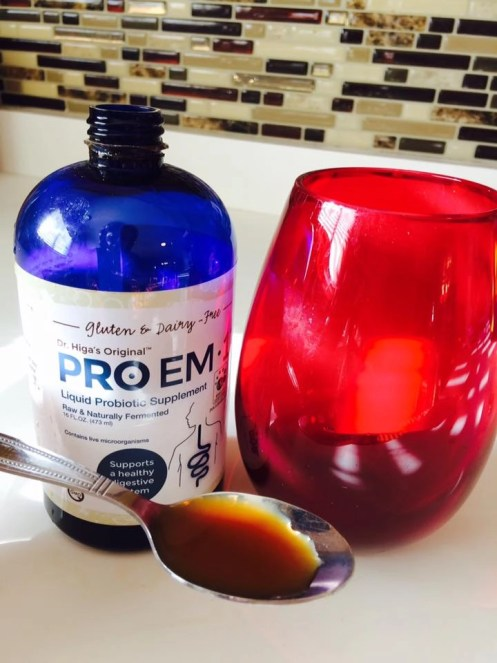 Dosage of Pro EM-1 Probiotic