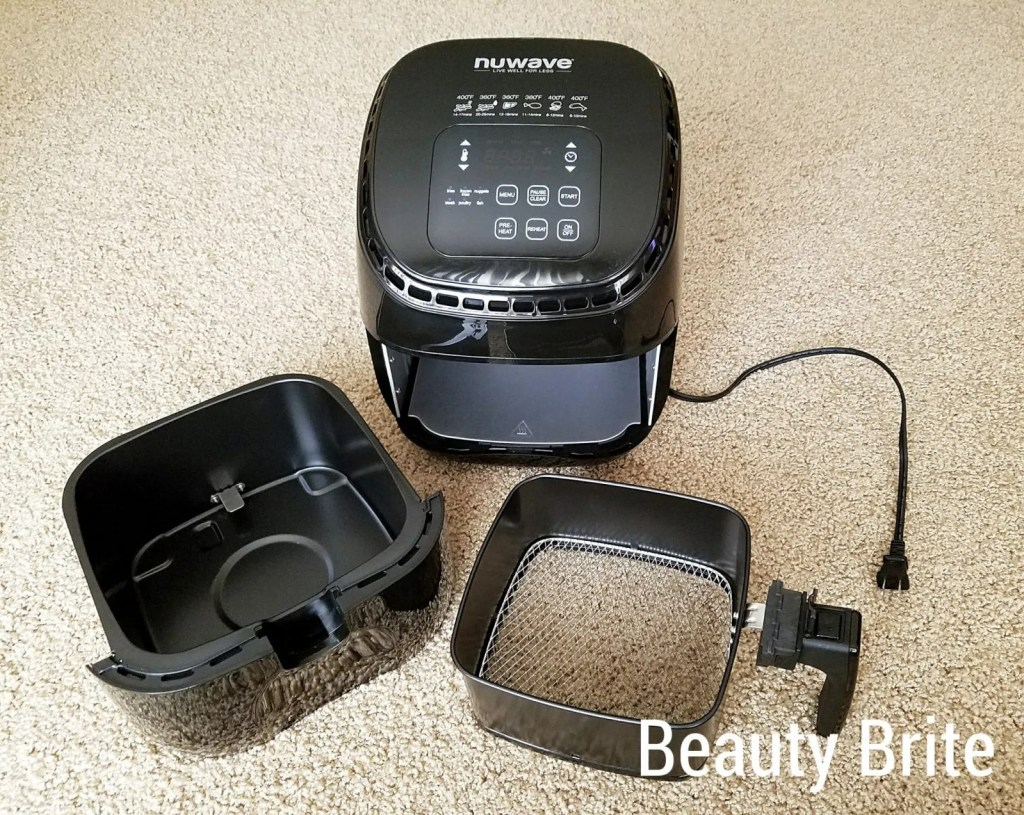 NuWave Brio Air Fryer 3 pieces