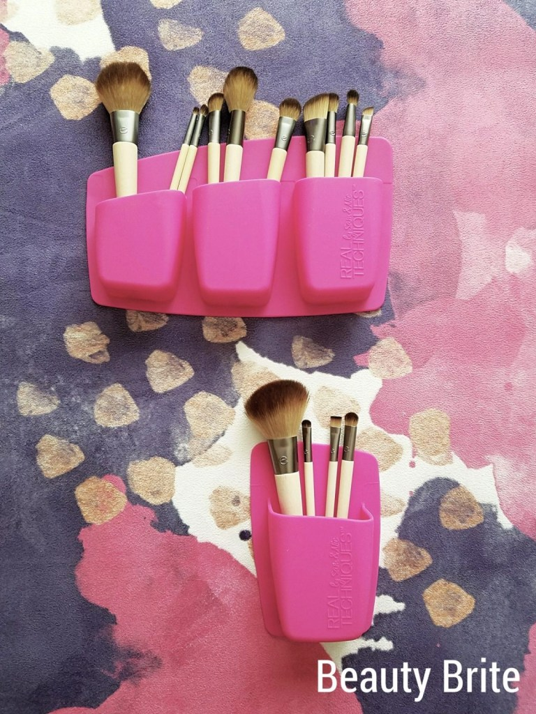 Real Techniques Pocket Expert Organizers with brushes
