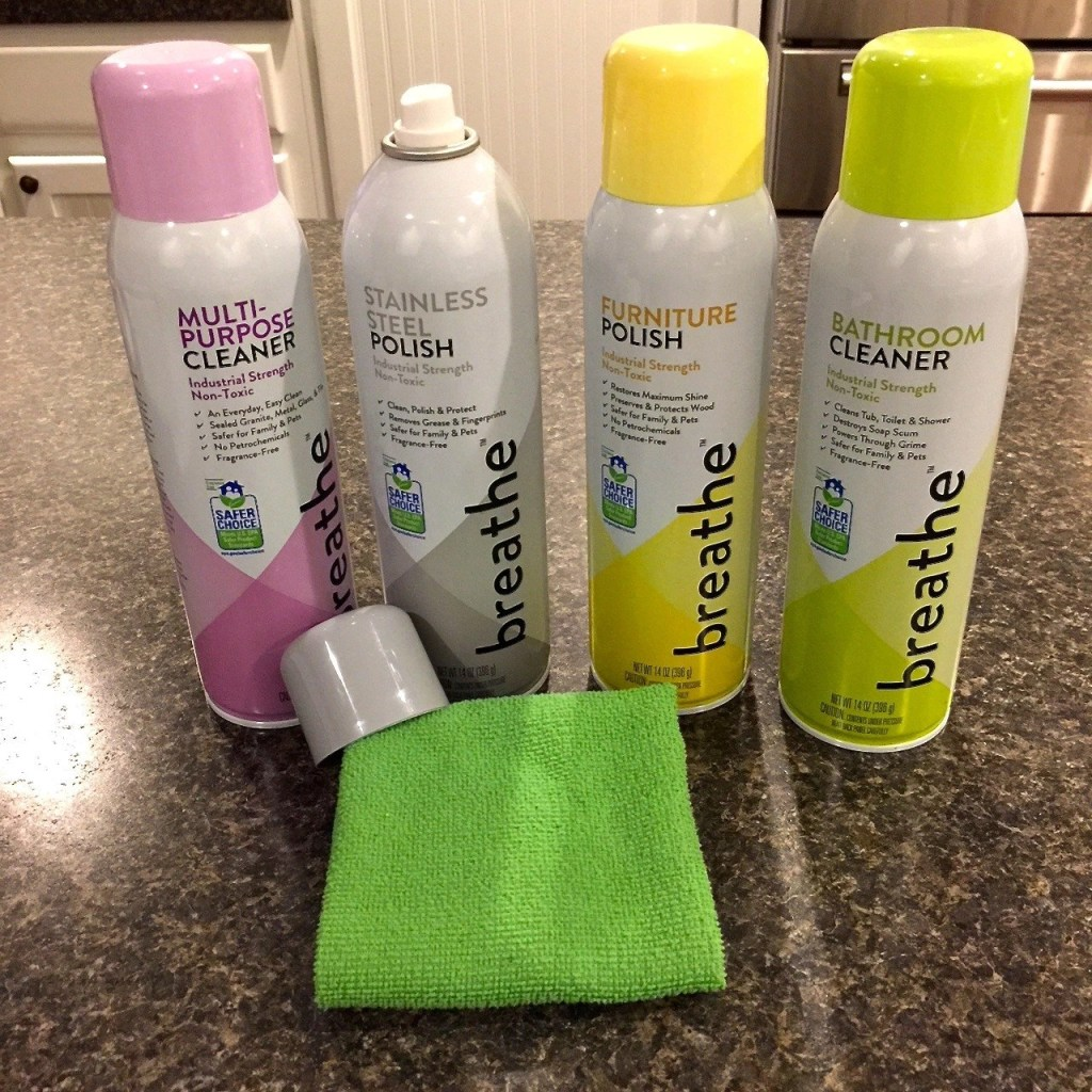 Get A Clean House Without Harsh Chemicals - Breathe Air-Fueled Aerosol Cleaners