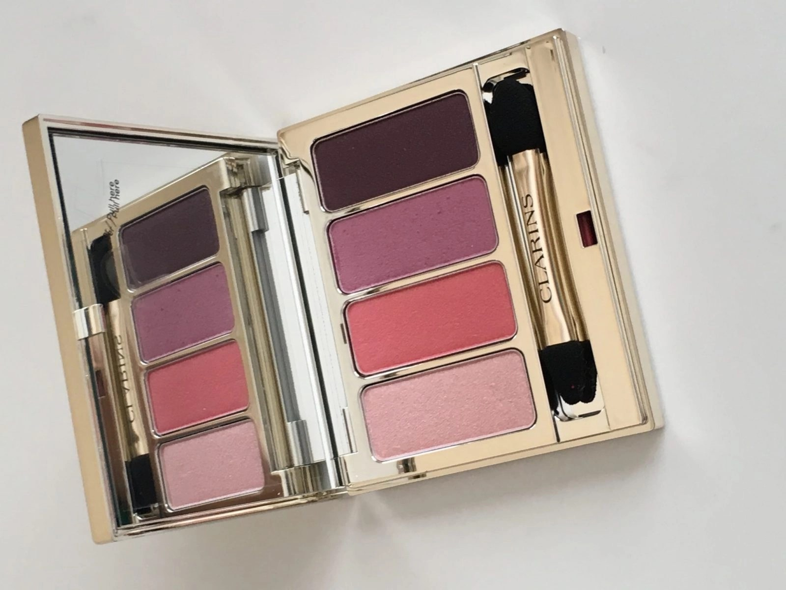 Clarins Eyeshadow Palette in Lovely Rose