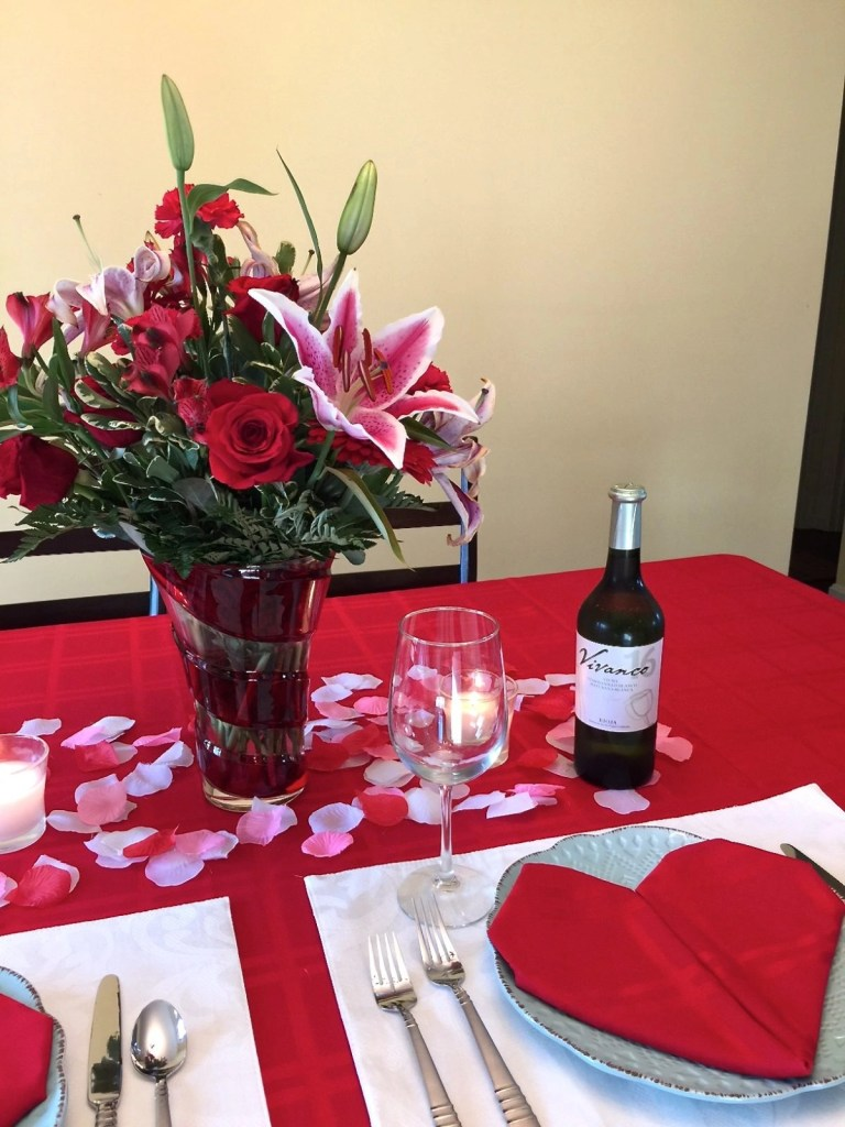Teleflora Valentines Day Bouquets and Vivanco Wines