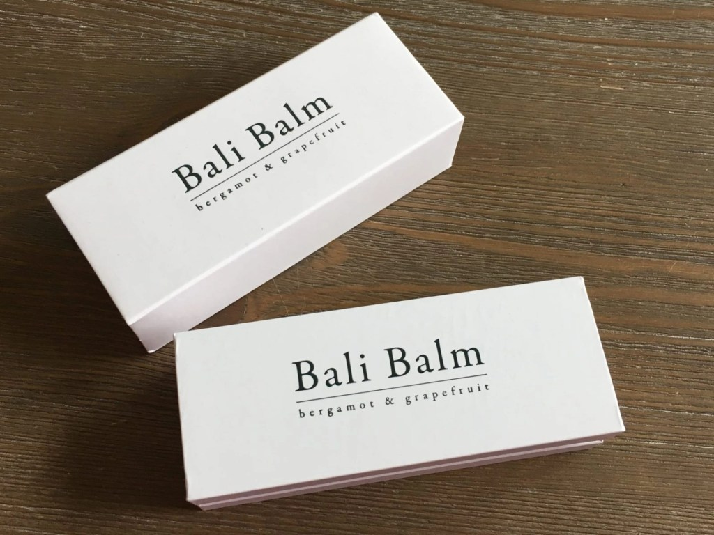 Bali Balm Packaging