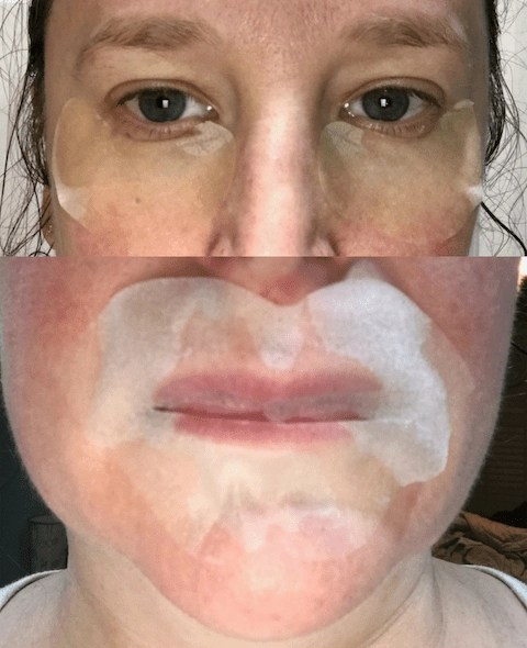 Burt's Bees Lip and Eye Mask Usage