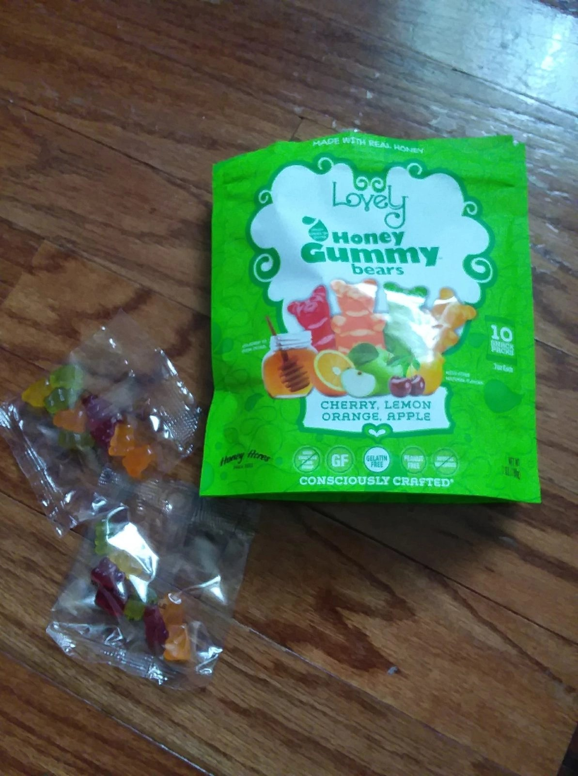 Honey Gummie Bears