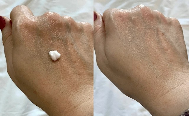 Moisturize your hands in florals - lotion results