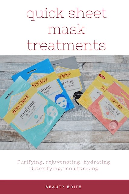 Quick Sheet Mask Treatments