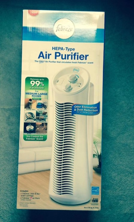 Boxed and Sealed Febreze Air Purifier Tower