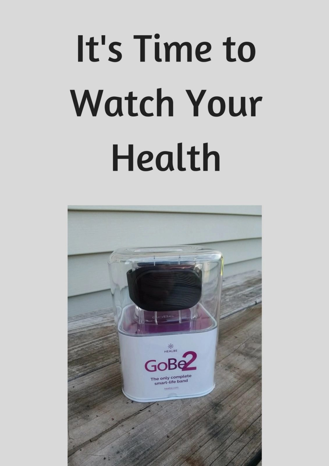 It's Time to Watch Your Health
