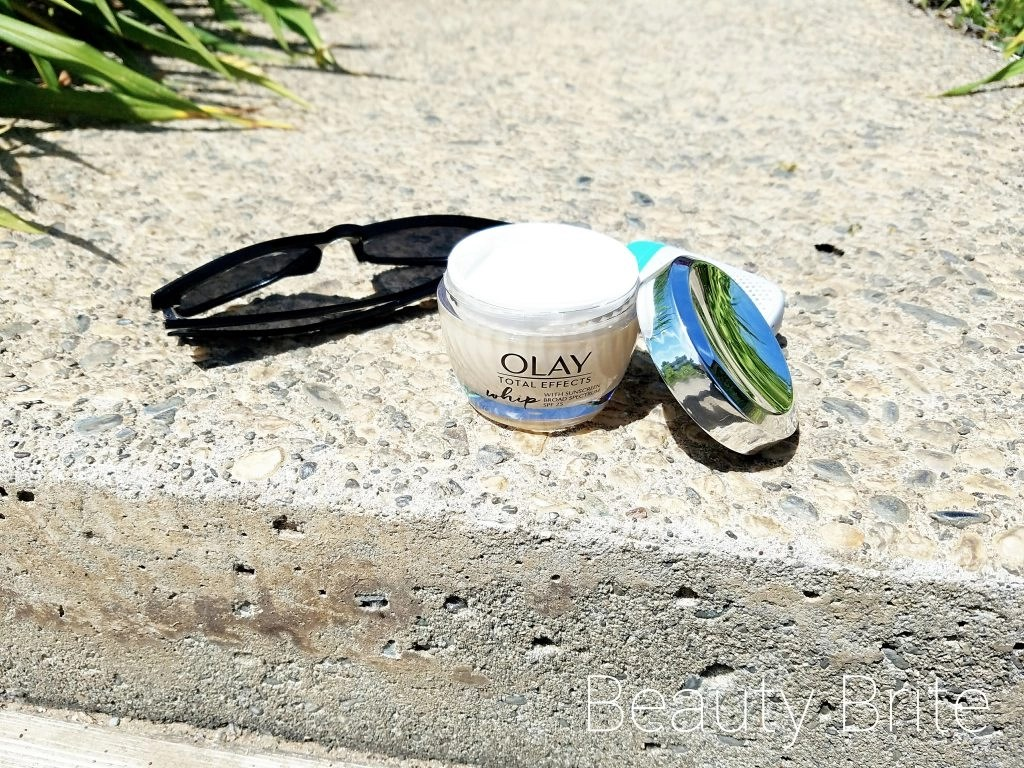 Olay Whip with SPF 25 lid off