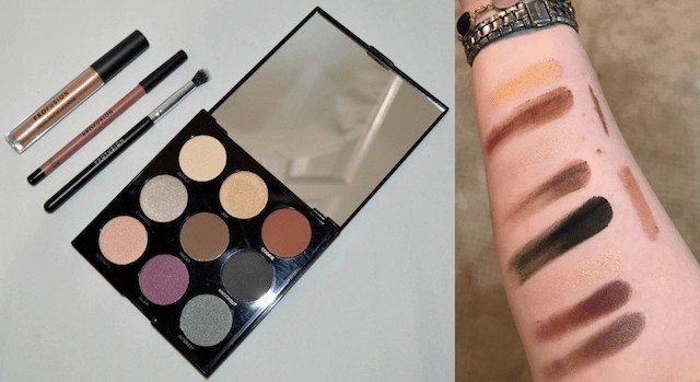 Summer Festival Ready Makeup Profusion - Mixed Metals Glam Palette & Swatches