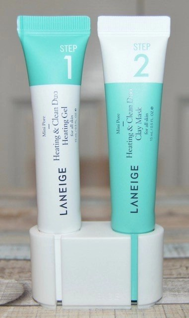 K-Beauty Favorites Laneige Mini Pore Heating & Cooling Duo