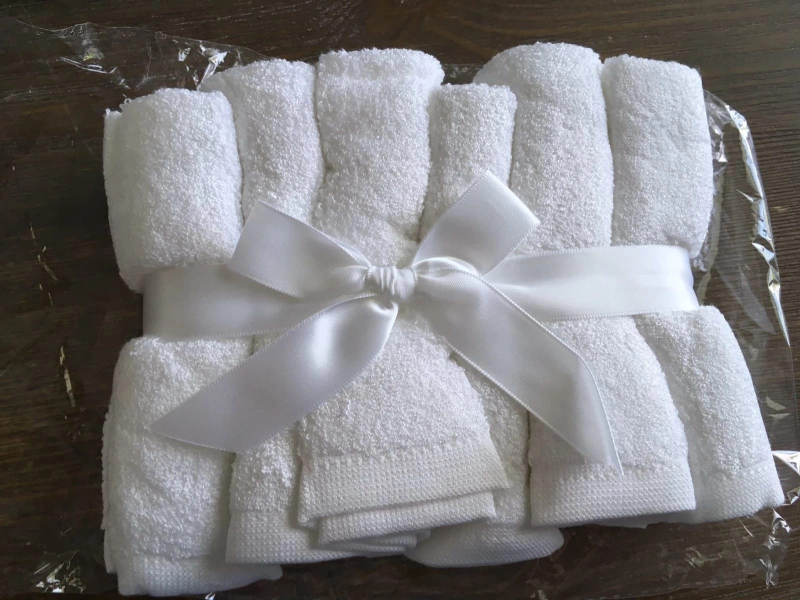 Organic Bamboo Washcloths for sensitive skin Packaged nicely