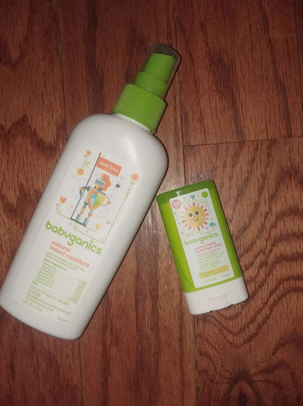 Babyganic Bug Repellent and Sunscreen Stick