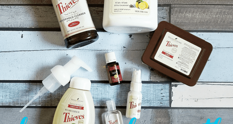 Clean Your Home With Thieves Essential Oil