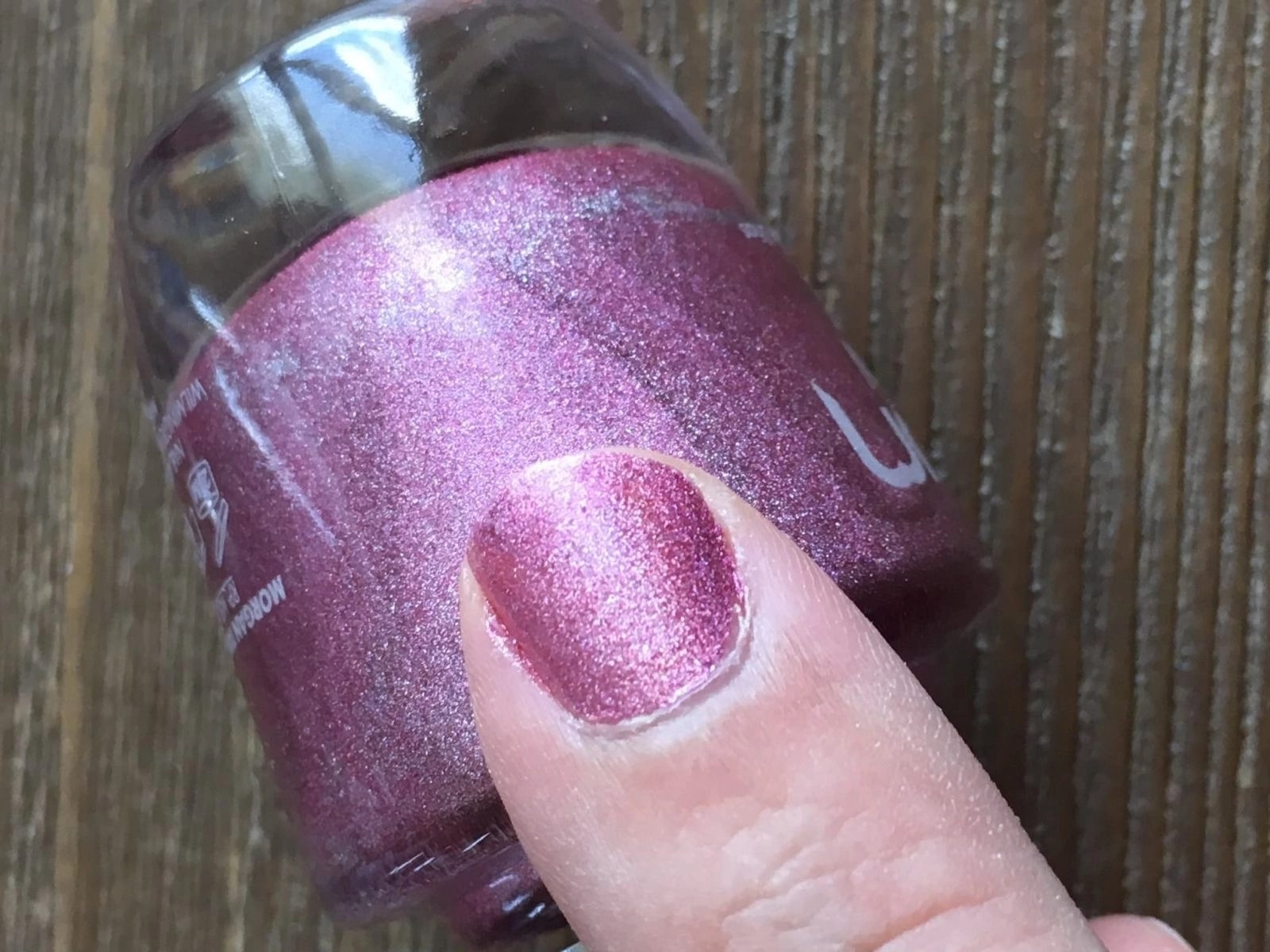 Morgan Taylor Holo Lover! nail swatch