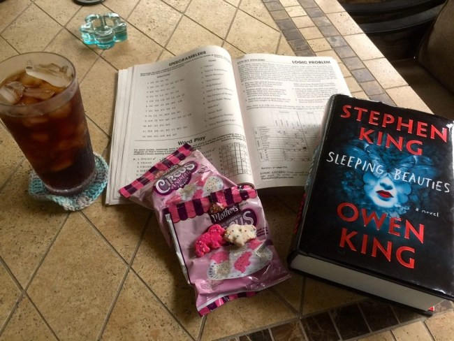 book-puzzle book-cookies-diet coke--edited
