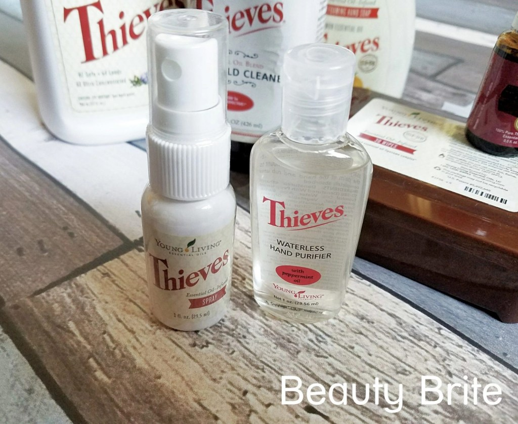 Thieves Spray and Hand Purifier