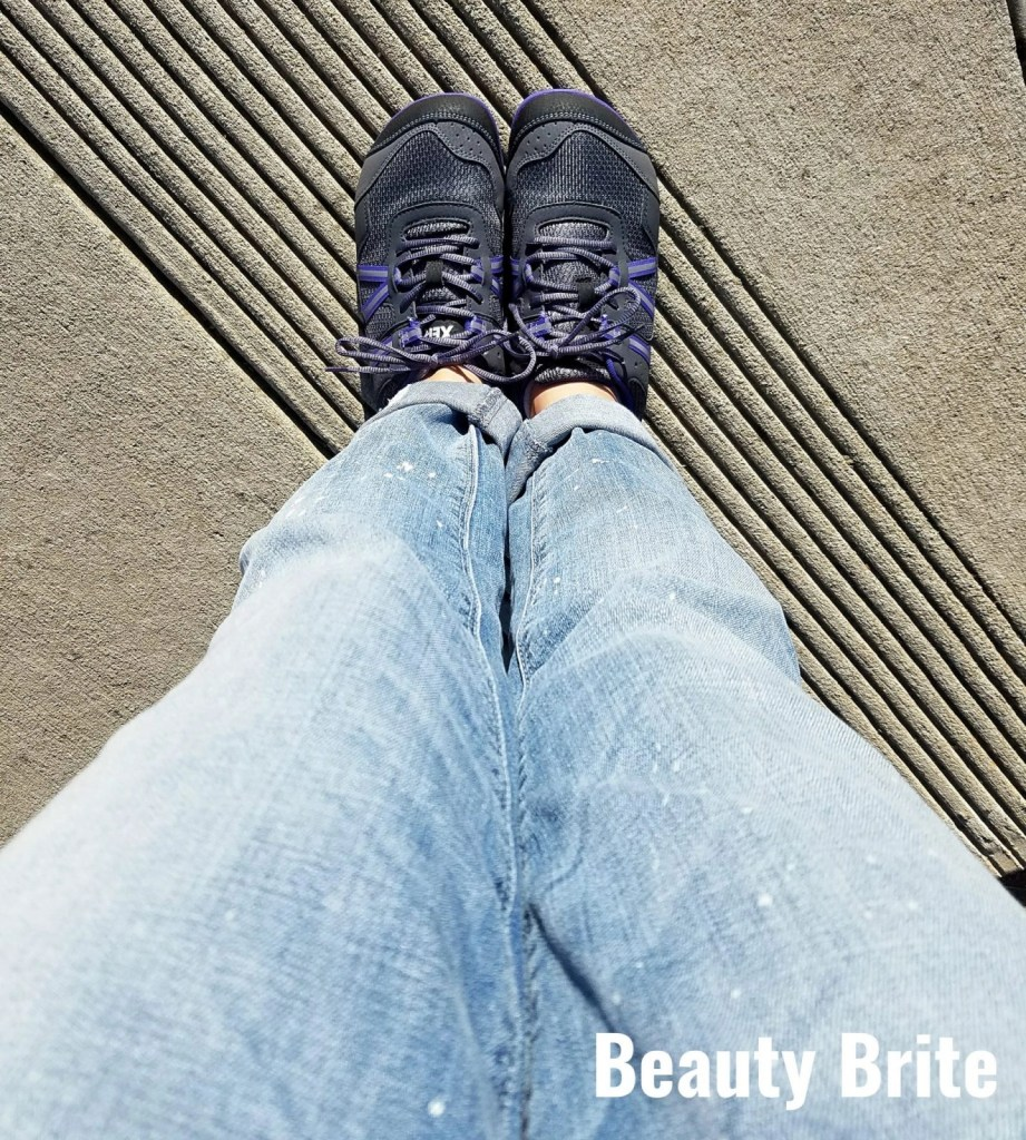 Wearing Prio Shoes