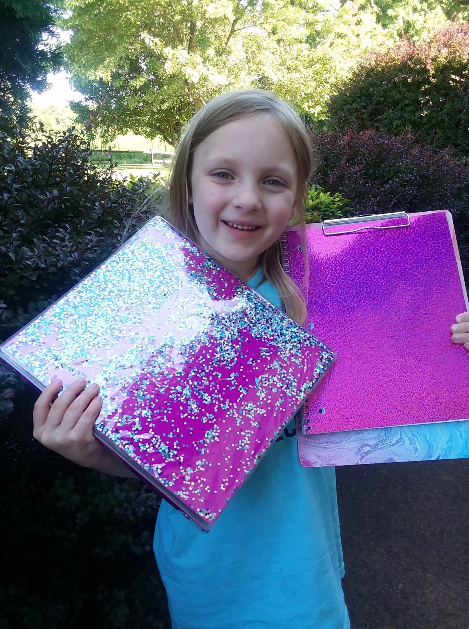 Floating Glitter Binder