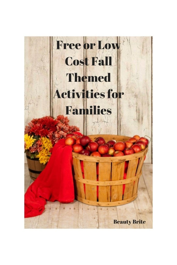 Free or Low Cost Fall Themed Activities for Families