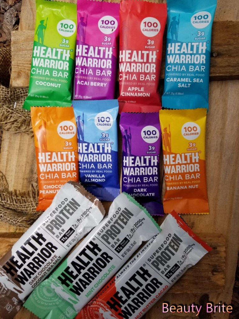 Health Warriors Chia Bars