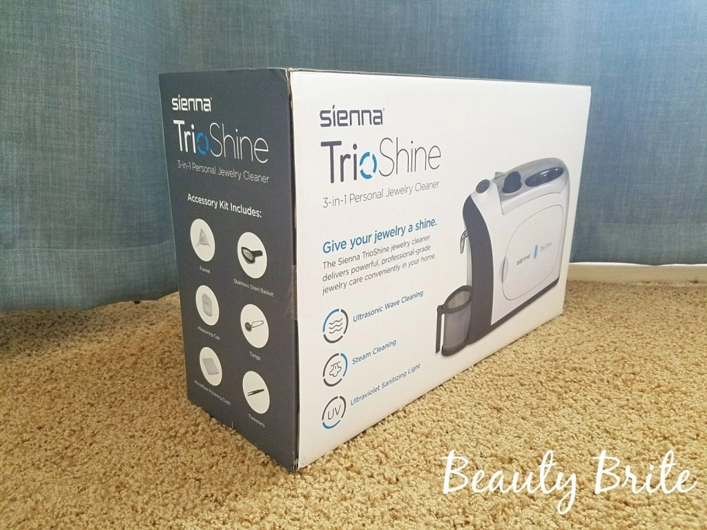 TrioShine 3 in 1 Jewelry Cleaner and Sanitizer