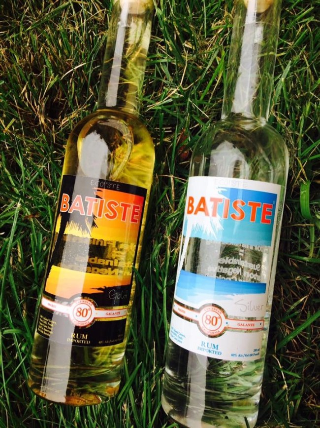 Bastiste Rhum Gold and Silver