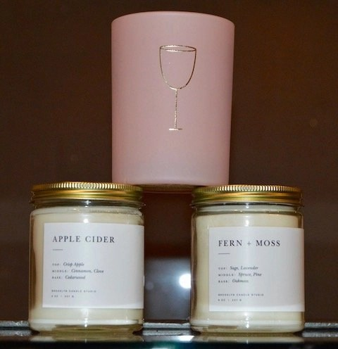 Handcrafted Candles for Every Occasion_Pink Disco and Minimalist