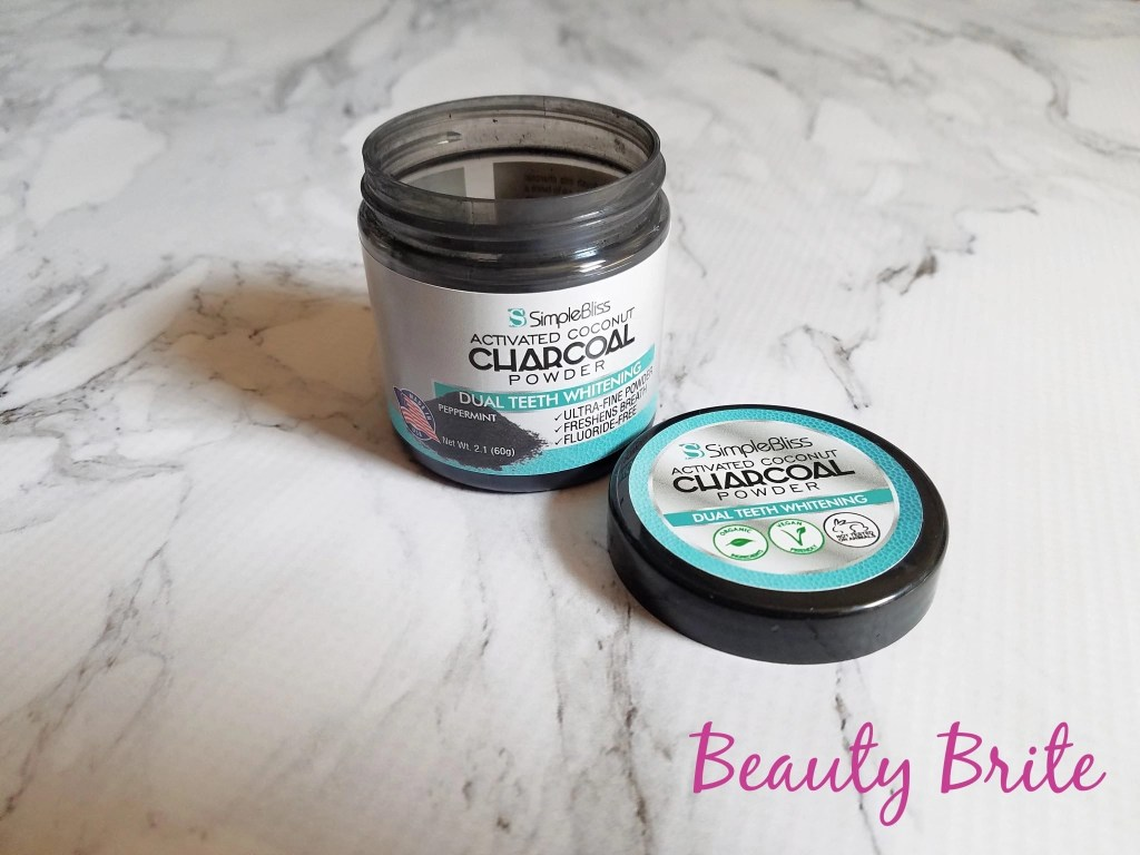 SimpleBliss Activated Coconut Charcoal Powder