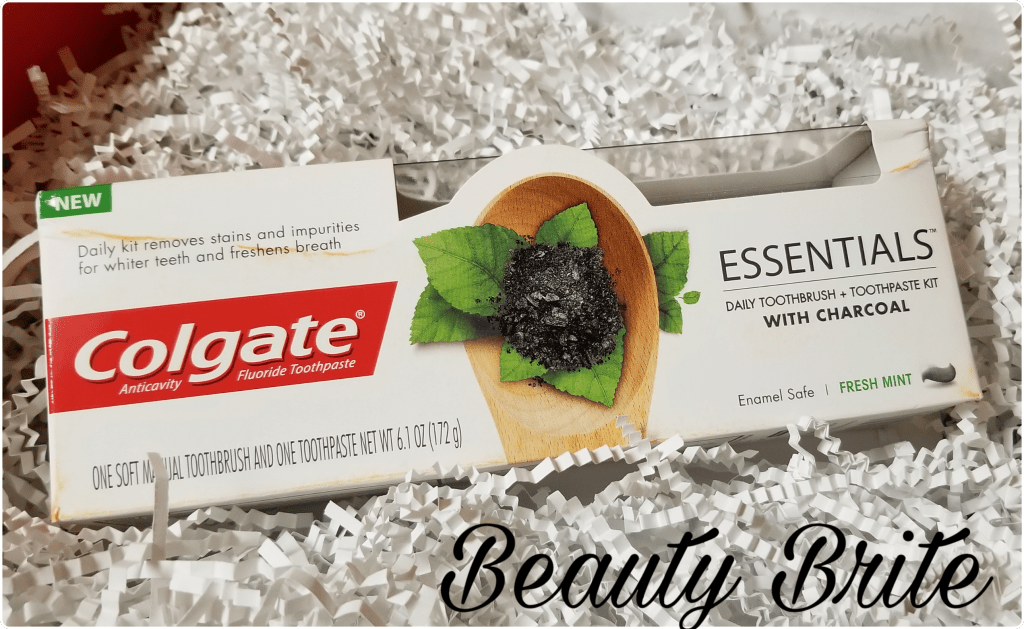 Finally Charcoal Toothpaste from a Well-known Brand