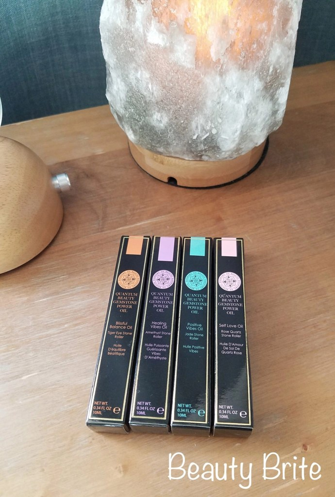 Gemstone Power Oil Collection in packaging