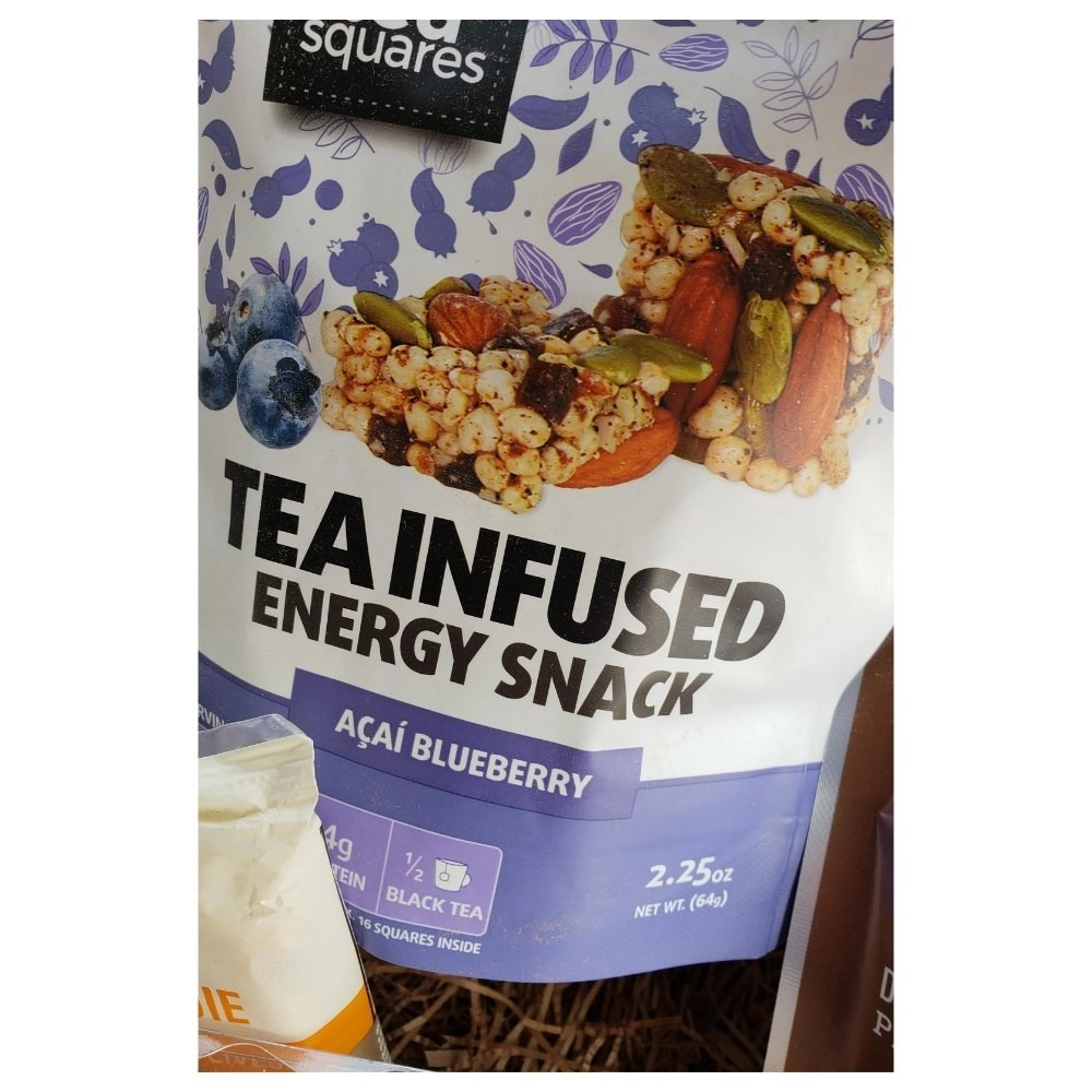 Tea Infused Energy Snacks